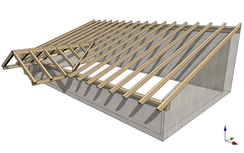 Cubiertas de madera laminada cubiertas de madera laminada - Estructura madera laminada ...