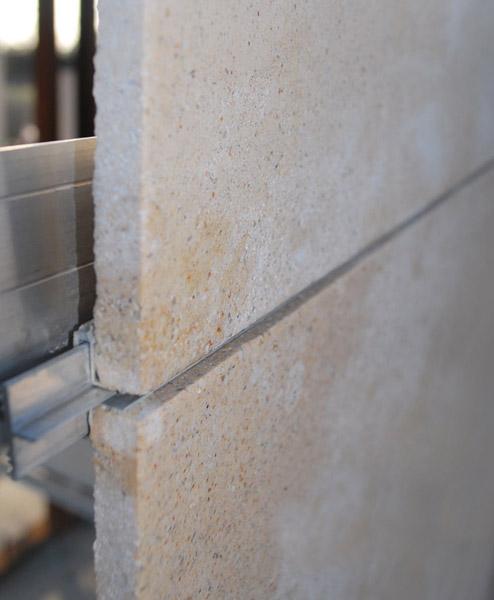 Tipolog as de fachadas ventiladas taparsa - Fachadas ventiladas de piedra ...