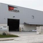 Fachada trasera de Taparsa