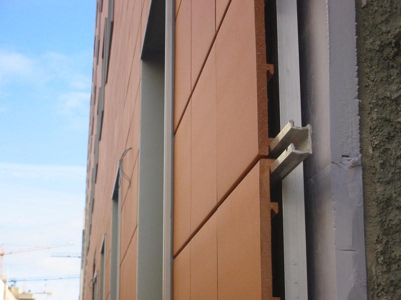 Fachadas ventiladas en navarra taparsa - Tipos de revestimientos de fachadas ...