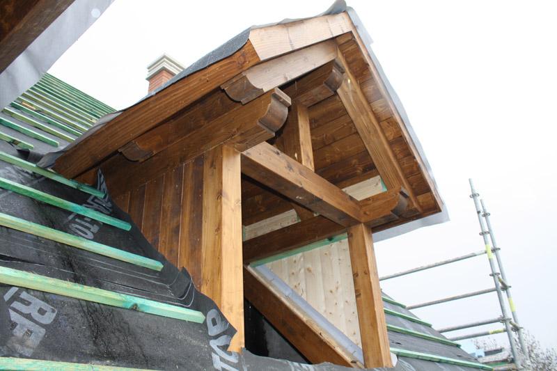 Tejado de madera cubiertas y tejados de madera cerchas for Tejados de madera barcelona