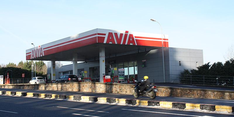 Gasolinera en Zizur