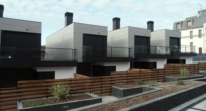 14 viviendas adosadas en Hondarribia (Gipuzkoa)