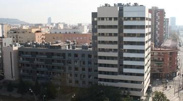 Dos edificios de viviendas en Hospitalet de Llobregat