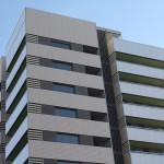 Fachada de edificio de viviendas en Hospitalet de Llobregat