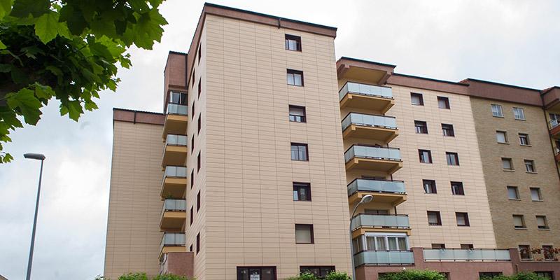 Rehabilitación edificio en Iturrama 15 de Pamplona