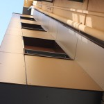 Detalle de rehabilitación con fachada ventilada