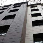 Detalle rehabilitación fachada