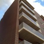 Edificio de viviendas en Pamplona con fachada ventilada
