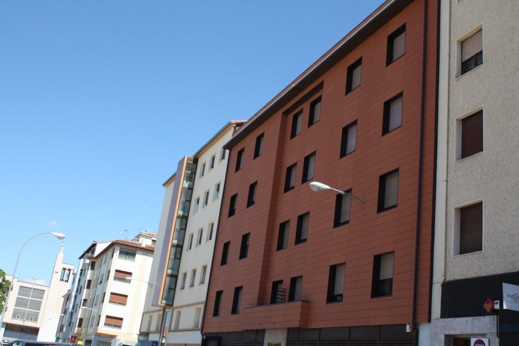 Rehabilitación en C/ Teobaldos, Nº 4 (Pamplona)